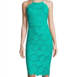 BISOU BISOU lace dress in Jade sz 6